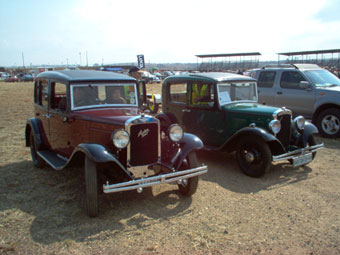 Cars in the Park - Pretoria - 5 August 2007